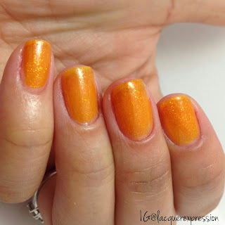 nail polish swatch of Ring the Belini by Sinfulcolors