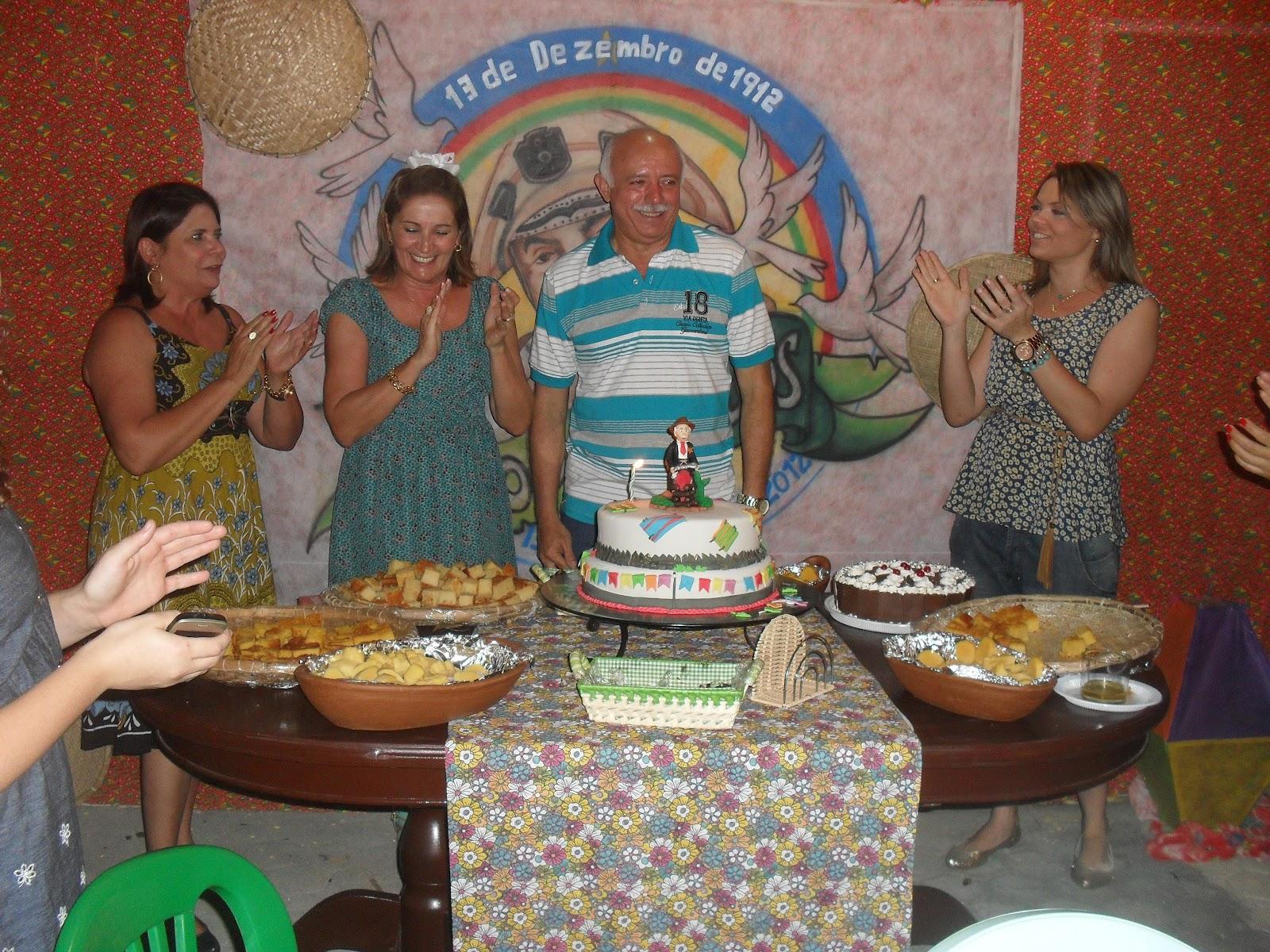 Max Weber Festa surpresa no aniversário do prefeito de Nova Russas