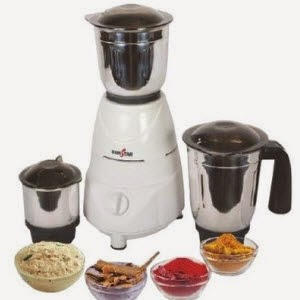Flipkart: Buy Kenstar Tufan KMT50W3S 500-Watt 3 Jar Mixer Grinder Rs 1650 + 200 delivery