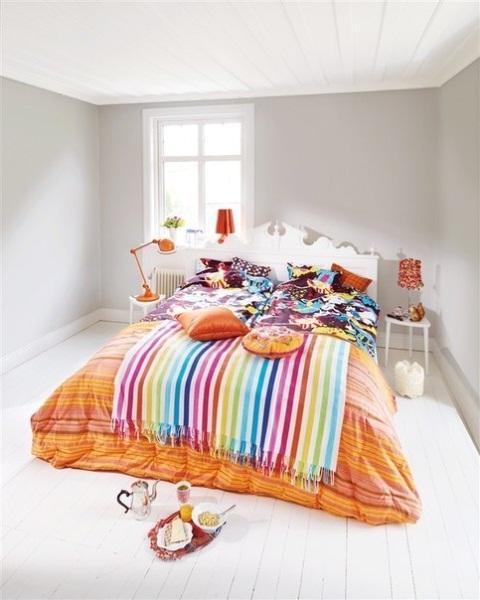 Gambar dekorasi kamar tidur utama untuk musim semi | Kamar Tidur