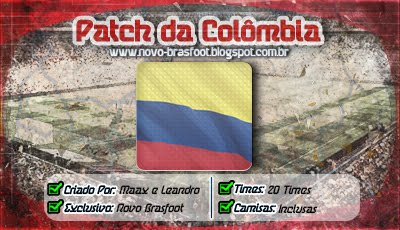 patch colombia brasfoot 2018