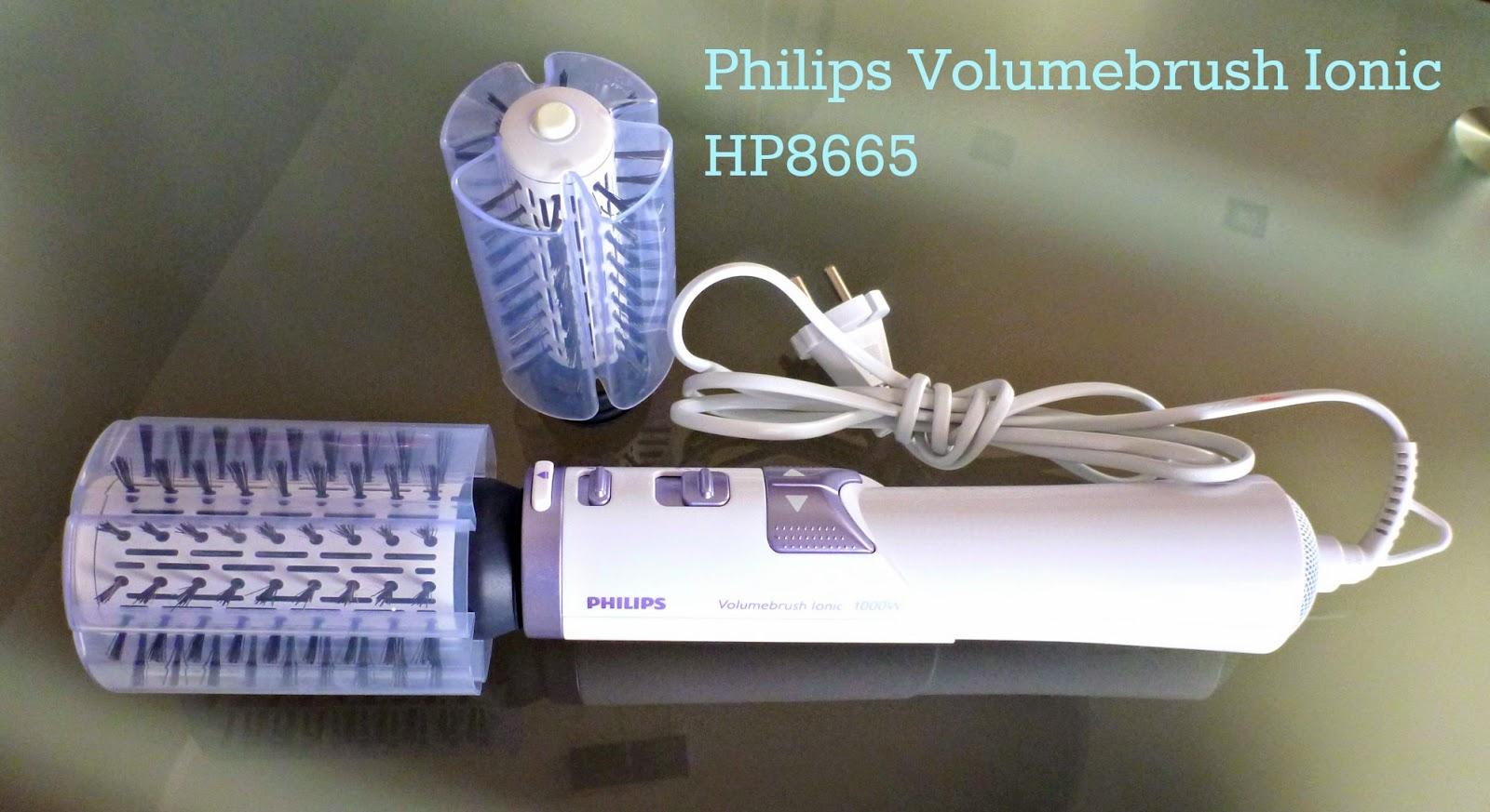 Porozmawiajmy o sprzęcie, czyli lokówko-suszarka Philips Volumebrush Ionic