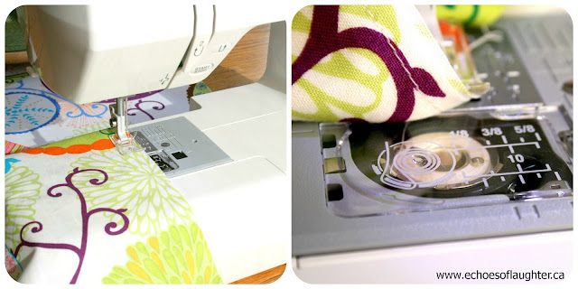 Echoes of Laughter: Make a Pretty Table Runner + Sears Sewing ...