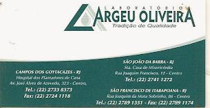 Laboratório Argeu Oliveira