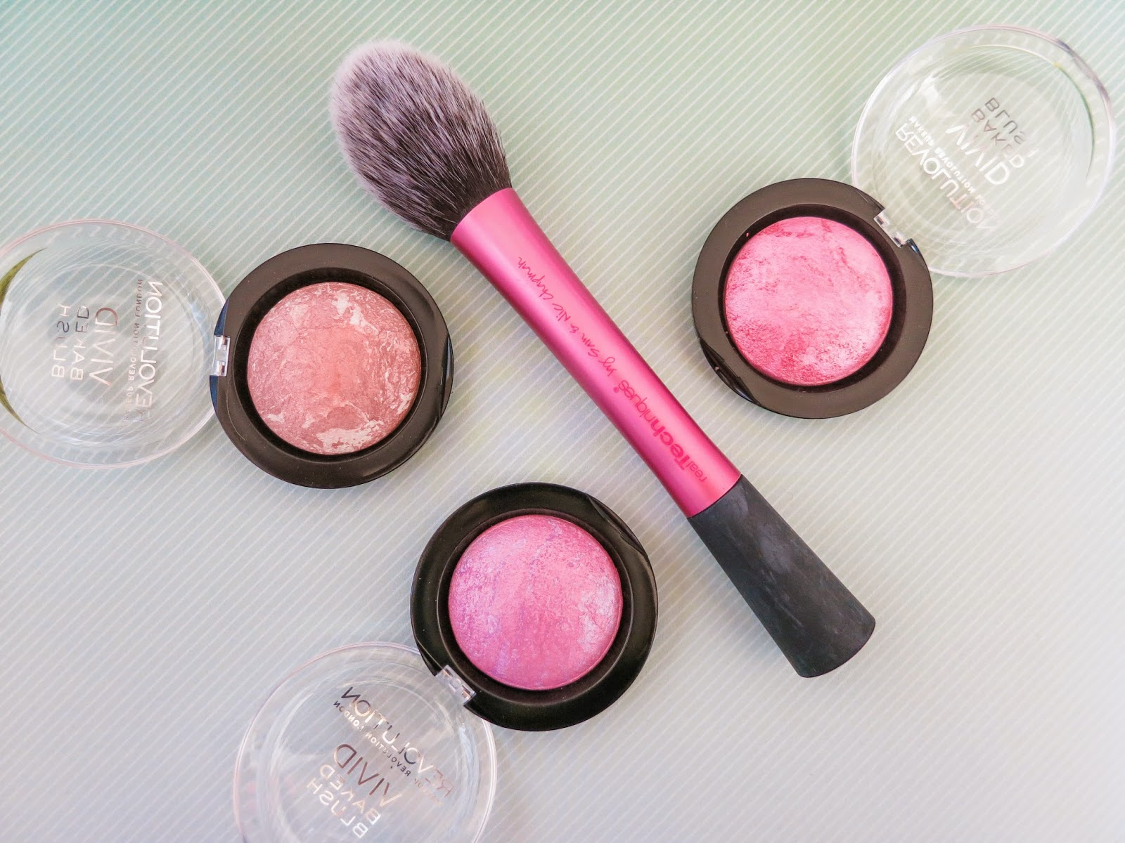 Makeup Revolution Vivid Baked Blushes