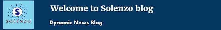 Welcome to Solenzo blog