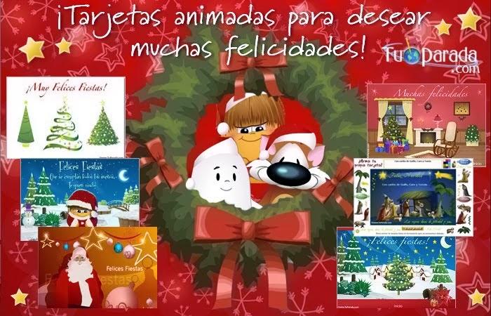 Tarjeta de navidad para compartir imagenes para portada - Tarjetas de navidad para enviar ...