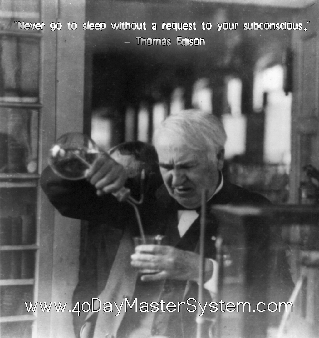 the life and works of thomas alva edison Thomas alva edison is one of the greatest early life: edison was born after developing and modifying the projector of thomas armat in 1895, edison.