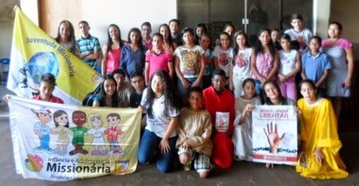 IAM e JM de Rio Verde divulgam a Campanha Missionária