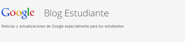 Blog Google de Estudiante