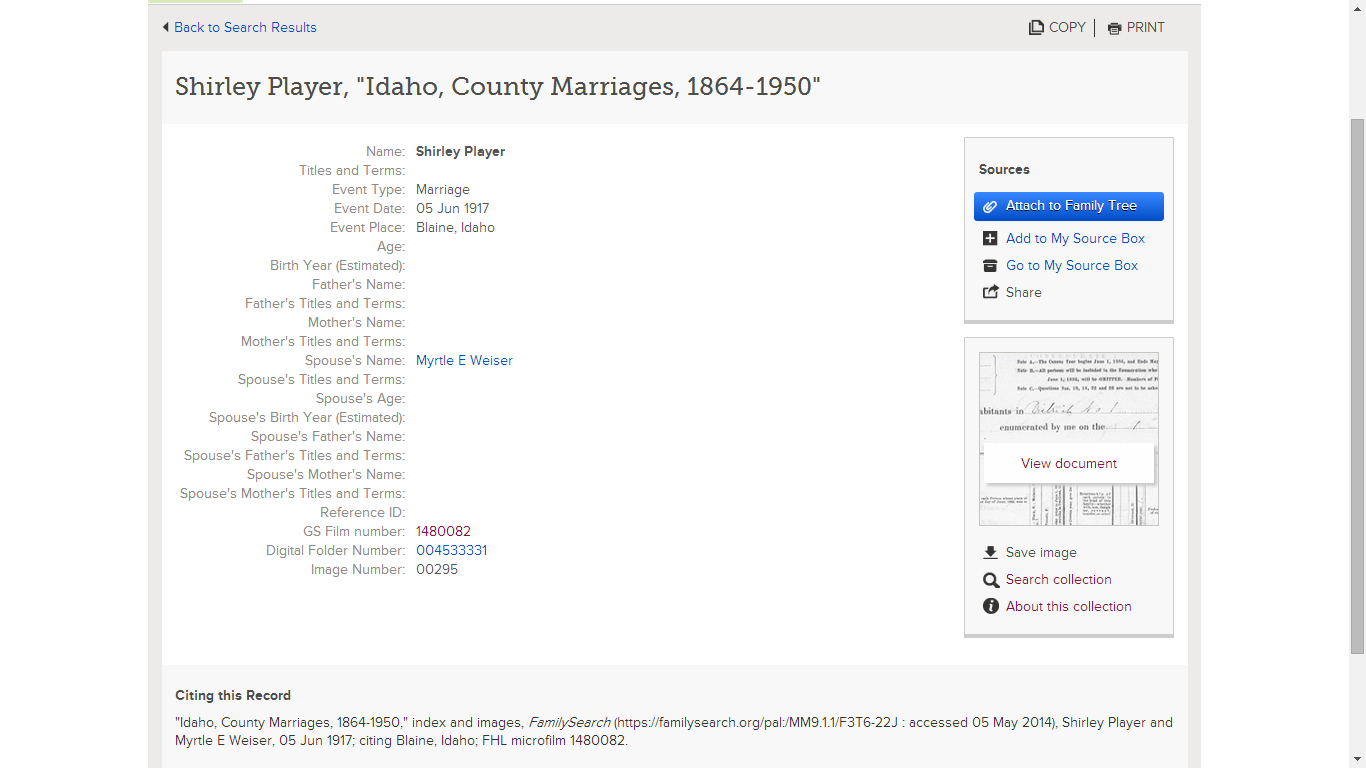 The Record Summaryrmation Is Identical To What Was Seen In The Myheritage  Record Summary I Can How To Cite A Book