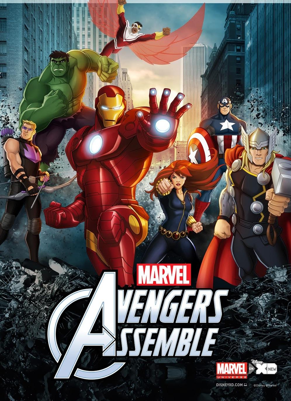 Avengers Assemble Temporada 1 (Español)