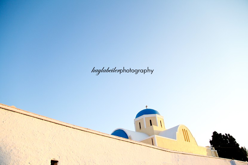 sunset oia photo