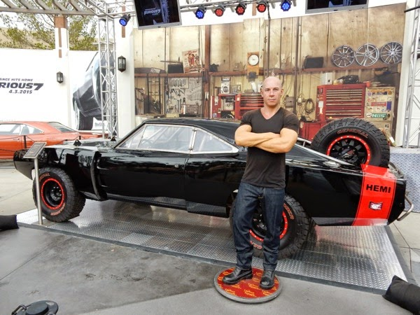 Furious 7 1969 Off Road Charger Vin Diesel waxwork