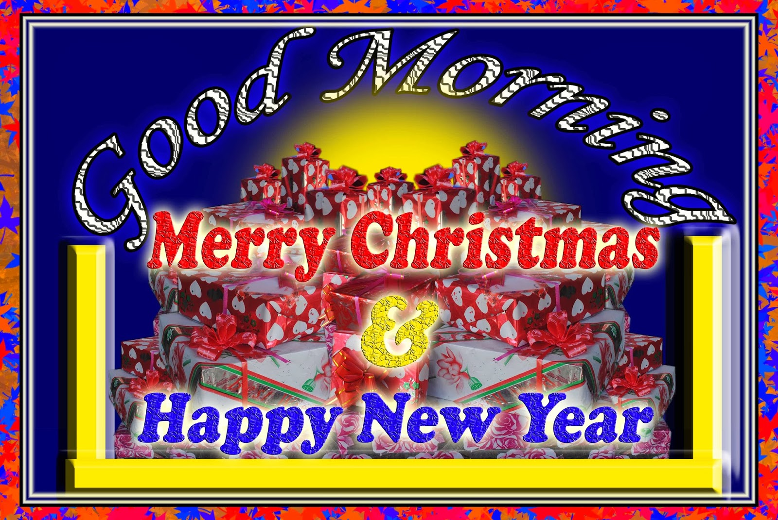 good morning merry christmas and happy newyear 2014