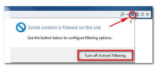 TUT] ActiveX Filtering - Internet Explorer 9 | Free license for you