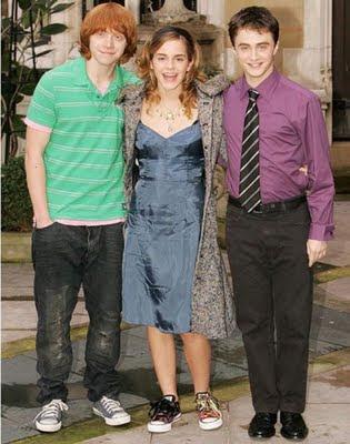 harry potter cast through the years billyinfo12 Evolusi Pelakon Pelakon Filem Harry Potter   Dari Kecil Hingga Dewasa