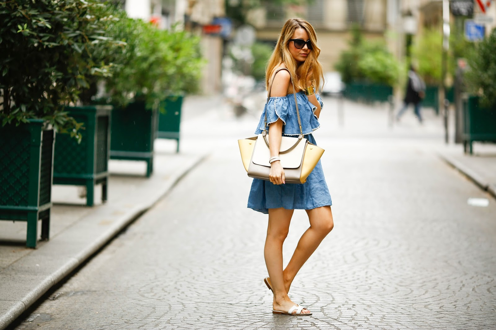 summer dress, paris, streetstyle, hermès, céline, pardon my obsession