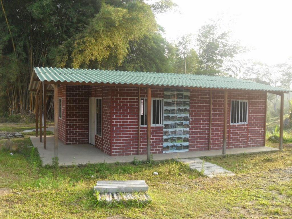 Casa 48 m2 casas prefabricadas cali colombia for Cocina 3x3 metros