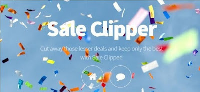 the screenshot of Sale Clipper official site