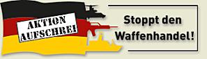 Aktion Aufschrei - Stoppt den Waffenhandel