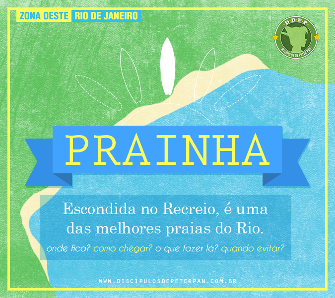 DDPP - Como chegar na Prainha, Rio de Janeiro