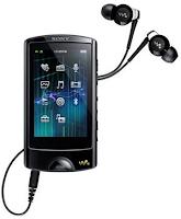 Sony NWZ-A860 Walkman With 2.8 inci WQVGA Touchscreen