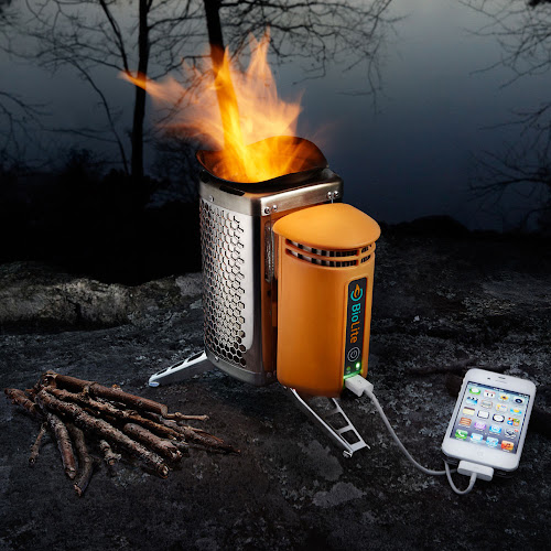 biolite stove - réchaud à bois