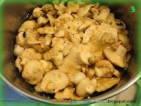 Funghi sotto olio