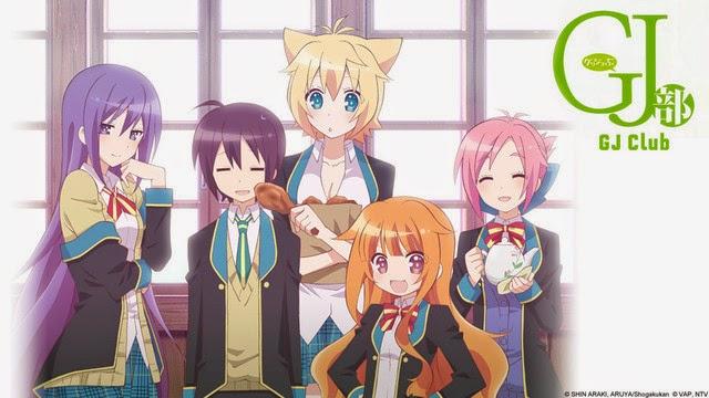 [ Info-Anime ] GJ-BU OVA Rilis Dalam Live Dan Blu-Ray Pada Mei 2014