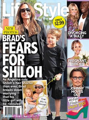 shiloh hija de brad pitt y angelina jolie parece hombre con el pelo corto