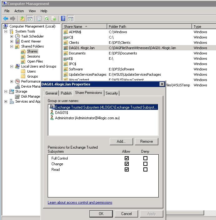 Exchange 2007: MSExchangeIS 9554 REPACK