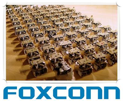 ROBOTS: El proceso de robotizacion de Foxconn