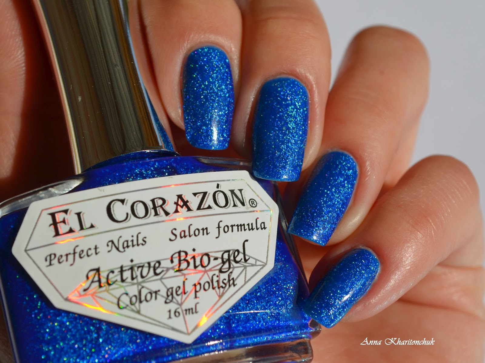 El Corazon Active Bio-Gel # 423/502 Large Hologram Ocean