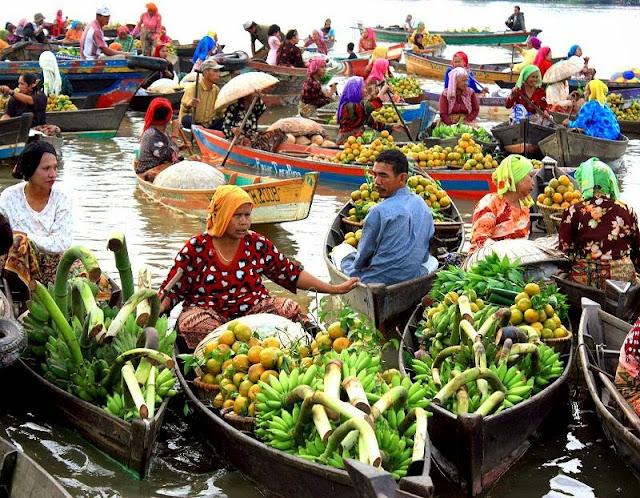 Tempat Wisata di Kota Banjarmasin Kalimantan Selatan