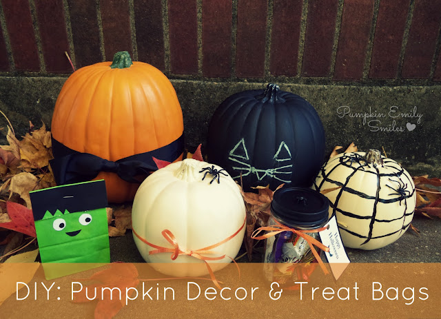 DIY: Pumpkin Decor and Treat Bags
