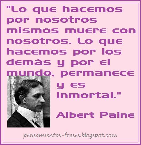 frases de Albert Paine