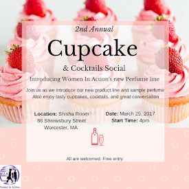 Cupcake Social and Perfume Launch