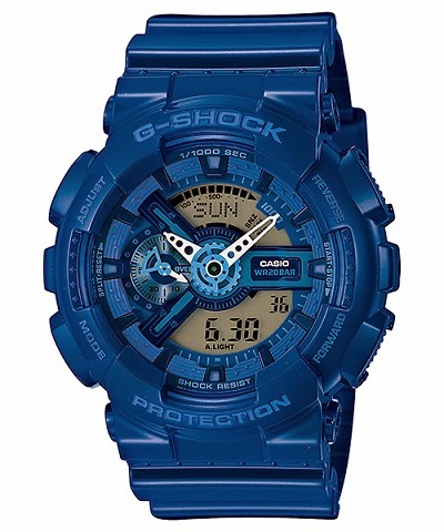 CASIO G-SHOCK BIG-CASE GA-110BC-2AJF Blue Color