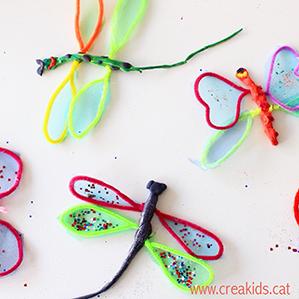 CreaKids: mariposas y libelulas