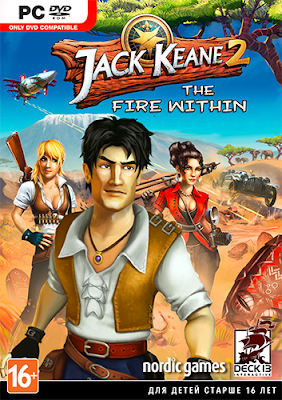Jack Keane 2 The Fire Within Free Download PC Game Full Version