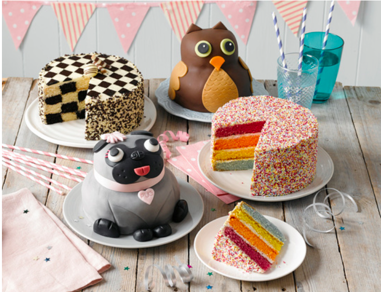 Character Birthday Cakes Asda ~ Creating a rainbow hundreds and thousands cake from asda for under