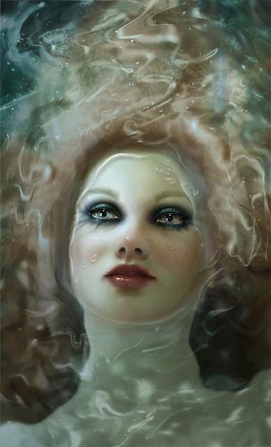 Beautiful Girl Painting