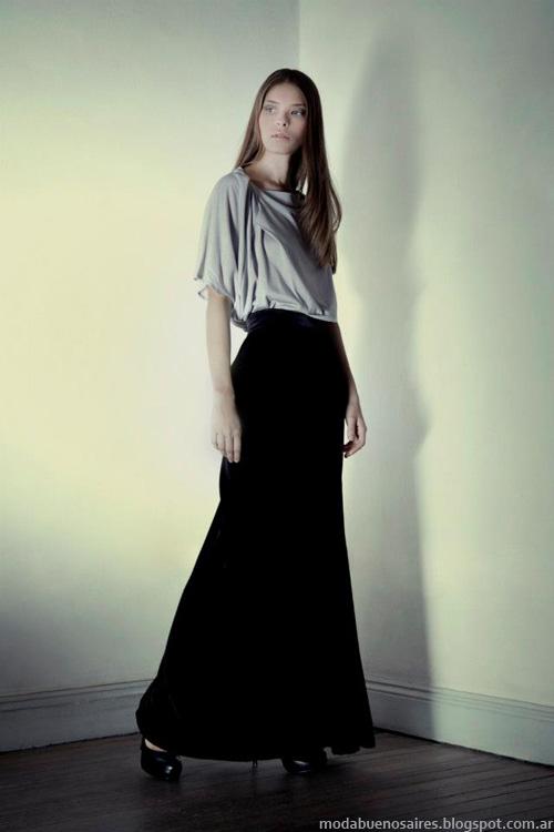 Diseñadores argentinos Daniela Sartori invierno 2013.