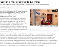 Salvar a María Solina (India)