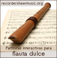 Recorder Sheet Music
