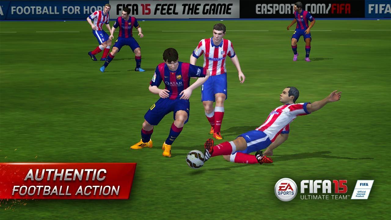 Game FIFA 15 Ultimate Team