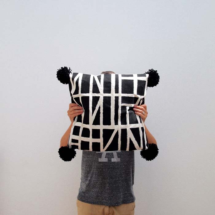 DIY | Graphic Pillows by Arren Williams