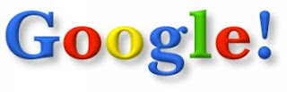 Circa 1997, the original Google home page logo included a final exclamation mark, à la Yahoo!