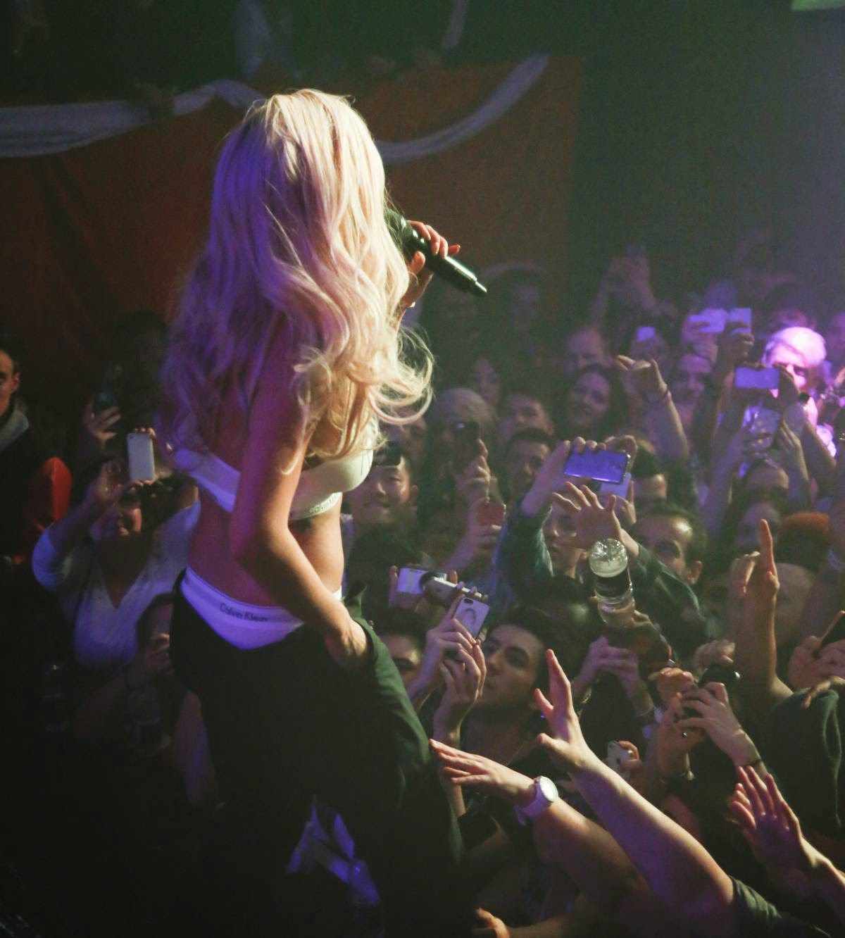 Rita Ora - Hottest Performence Photos at G-A-Y in London